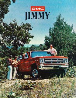 1975 GMC Truck Jimmy SUV 4wd Sales Brochure