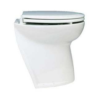 Jabsco Deluxe Flush Electric Toilet With Slant Back