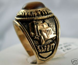 tiger eye ring gold in Jewelry & Watches