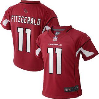 Infant Nike Arizona Cardinals Larry Fitzgerald Game Team Color Jersey