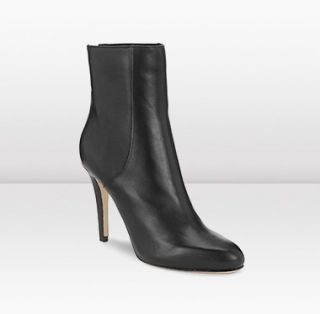 Jimmy Choo  Balfour  100mm Ankle Boots in Black Leather JIMMYCHOO