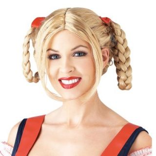 Halloween Costumes Milkmaid Wig  Blonde