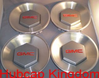 GMC ENVOY XL Wheel Center Cap NEW OEM SET (Fits GMC Envoy 2004)