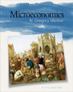 of Microeconomics by N. Gregory Mankiw 2008, Paperback