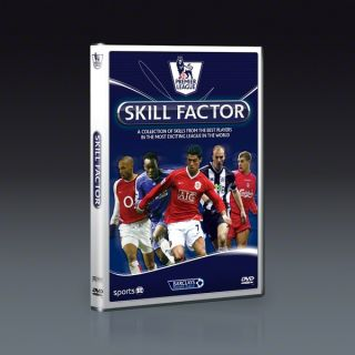 Premier League Skill Factor DVD  SOCCER