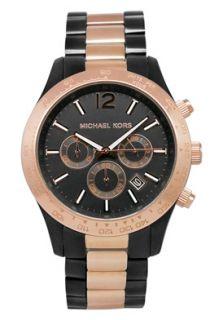 Michael Kors MK8208 Watches,Mens Layton Black Dial Two Tone, Mens