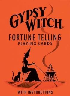 Gypsy Witch Fortune Telling Playing Card Deck New