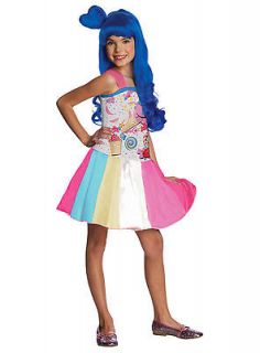 KATY PERRY Candy Girl Child Costume Size Small 4 6 Halloween Dress