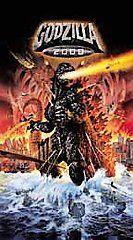 Godzilla 2000 VHS, 2000