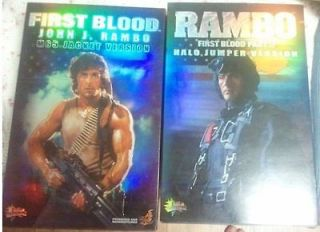 Hot Toys Rambo in Action Figures