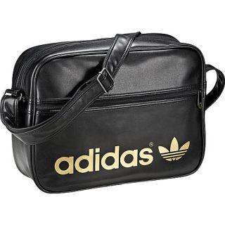 Adidas Schultertasche Airline Bag, schwarz/gold im Karstadt sports