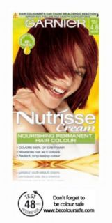 Garnier Nutrisse Cream Nourishing Permanent Hair Colour   Free