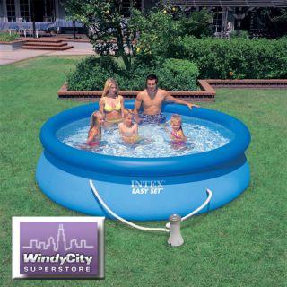 10 x 30 Easy Set Above Ground Intex Swimming Pool +Pump