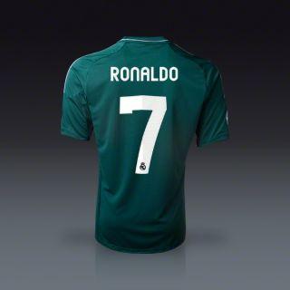 adidas Cristiano Ronaldo Real Madrid Third Jersey 12/13  SOCCER