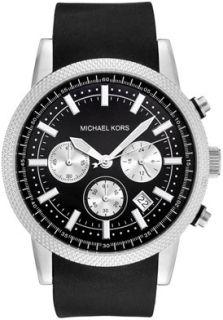 Michael Kors MK8040 Watches,Mens Chronograph Black Dial Black