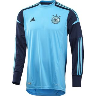 Adidas Herren DFB Torwarttrikot 2012, blau/schwarz im Karstadt sports