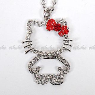 hello kitty rhinestone in Jewelry & Watches