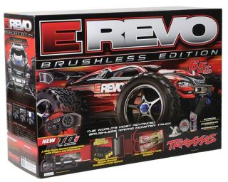 Traxxas E Revo Brushless RTR Monster Truck (w/Castle Mamba,TQi 2.4GHz