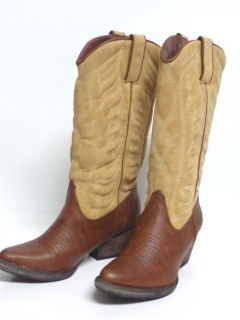 Very Volatile Ladies Western Boots INGRAIN All Man Made Two Toned