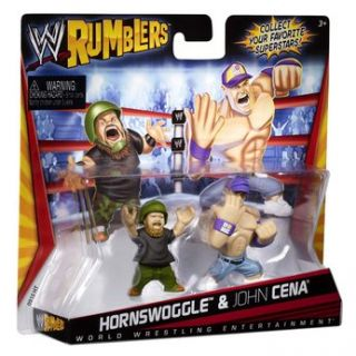 Sorry, out of stock Add WWE Mini Rumblers   Hornswoggle and John Cena
