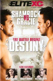 EliteXC   Destiny Gracie Vs. Shamrock DVD, 2008, 2 Disc Set