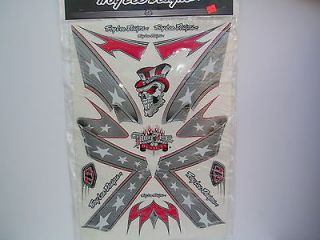 TROY LEE DESIGN REBEL FLAG HELMET GRAPHIC KIT