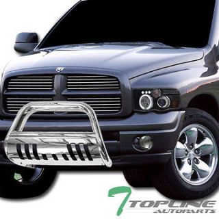 Stainless S/S BULL BAR(brush push bumper grill guard) V2 06 08 DODGE