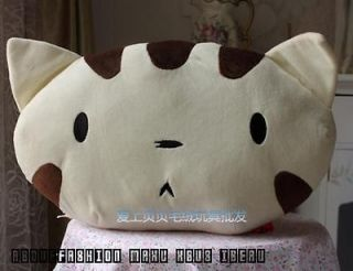 New 45*25cm cat bulk doll cushion lumbar pillow plush toy backrest