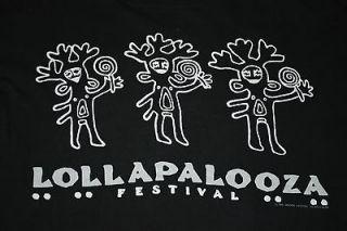 VINTAGE LOLLAPALOOZA MUSIC FESTIVAL ICE CUBE NINE INCH NAILS SHIRT