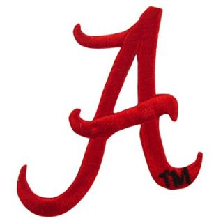 Alabama Crimson Tide Team Logo Embroidery Sticker Patch