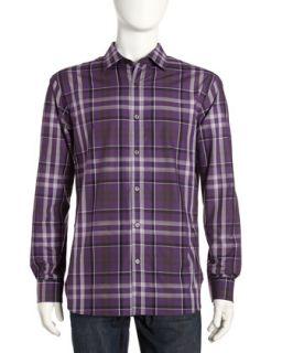 Plaid Dress Shirt, Concord