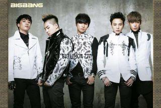 Big Bang BIGBANG G Dragon,Tae Yang,T.O.P KOREAN BAND Poster 24