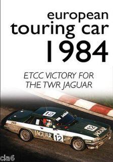 European Touring Car 1984 DVD   ETCC Victory for TWR Jaguar XJ S *NEW