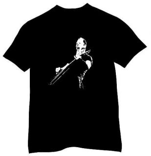 JAMES HETFIELD METALLICA ROCK MUSIC LEGEND T SHIRT   FREE UK POSTAGE