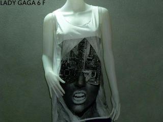 GAGA Tank Top Woman Dress Shirt Singer Dance Queen Rock Indie R&B Punk
