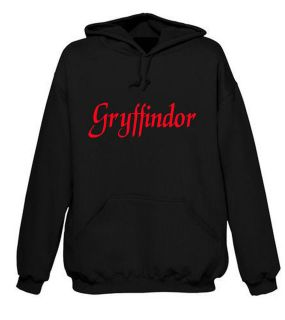 Harry Potter Houses G, S, H & R HOODIE S XXL BLACK