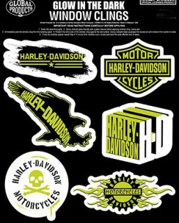 harley davidson decals in Collectibles