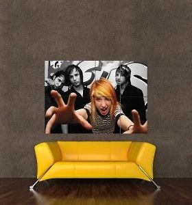 PARAMORE HAYLEY WILLIAMS GIANT POSTER PICTURE KB238