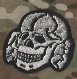 ROCKERS 59 TON UP BOY OUTLAW BIKER PATCH SERIES: Death Head Skull
