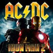 Iron Man 2 CD DVD by AC DC CD, Apr 2010, 2 Discs, Columbia USA