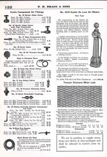 1930 AD Hardie DeLuxe Air Pump Meters Tire Serice Stations Gas Glass
