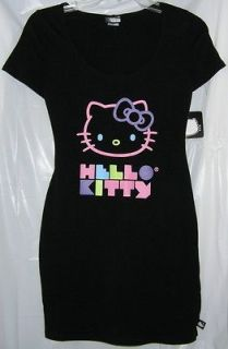 Hello Kitty Black Dress Short Sleeve  CHRISTMAS GIFT