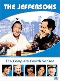 The Jeffersons   The Complete Fourth Season DVD, 2005, 3 Disc Set