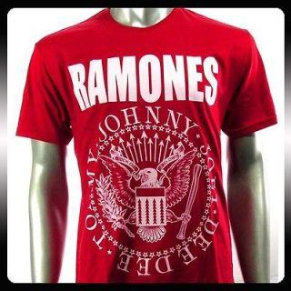 Ramones American Punk Metal Rock Band T shirt Sz XXL 2XL Biker RAM30