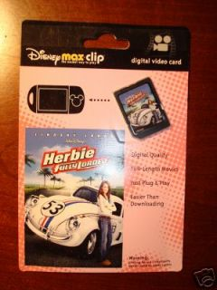 Disney Mix Max Clip **Herbie Fully Loaded**2007 Release