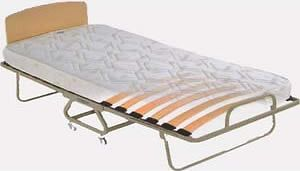 TWIN Roll Away Bed, Folding Guest Bed, Hideaway bed cot