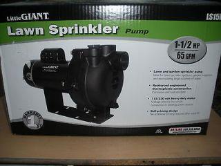 NEW!!!! Little Giant LS 15P Lawn Sprinkler Pump 1.5HP Irrigation Pump