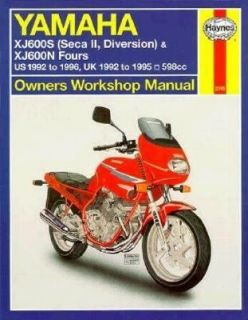 Haynes Yamaha SECA II Xj600s, 1992 1996 by Haynes Publications Staff