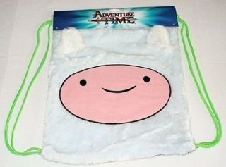 NEW Adventure Time Finn & Jake FINN Face Backpack Sturdy Cinch Bag