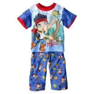 Jake and the Neverland Pirates Toddler Boys 2T Pajama Set Short Sleeve